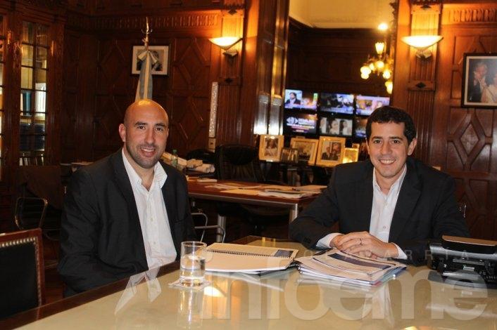 Valicenti y De Pedro se reunieron tras el regreso de Eseverri