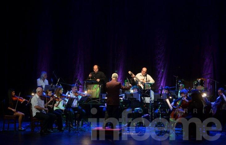 La Sinfónica brindó un concierto de lujo en el Teatro