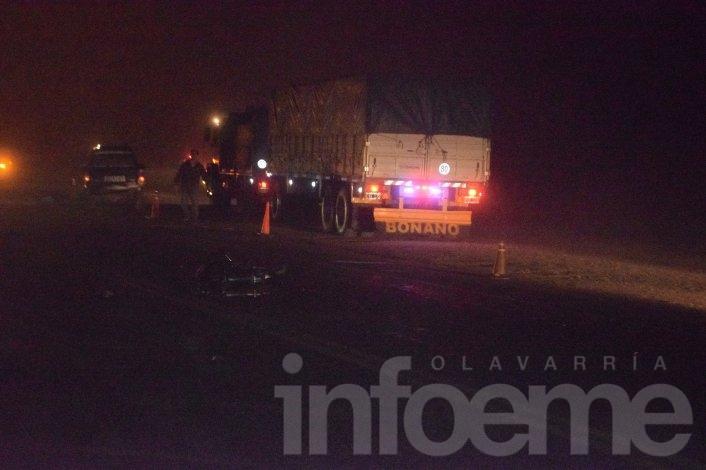 Motociclista pierde la vida  en un choque en Ruta 51 y Autopista Fortabat