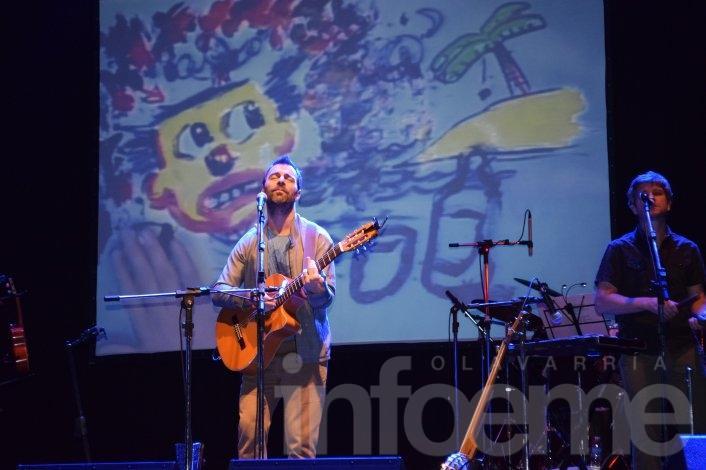 Estamos todos: Johansen, Liniers y The Nada pintaron emociones en Olavarría