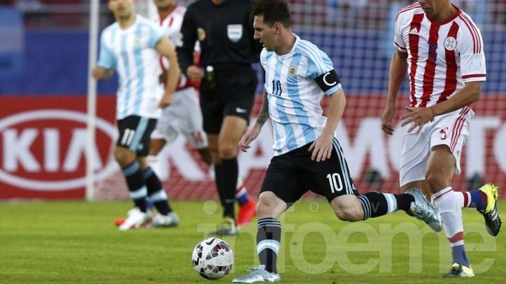 Copa América: Argentina y Paraguay quedaron a mano