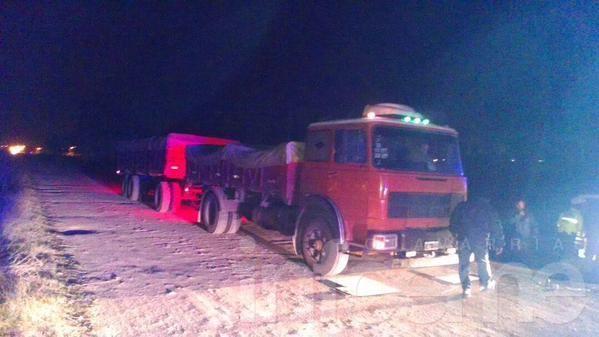 Detectan camión con más de 20 mil kilos de sobrecarga