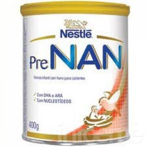 Retiro preventivo de lote de Nestlé Pre NAN