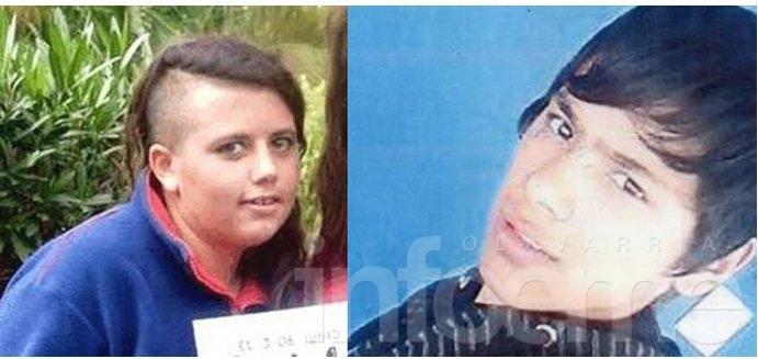 Hace una semana que se busca intensamente a dos adolescentes en Olavarría