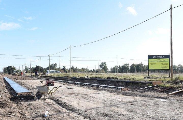 Procrear: Continúan las obras de infraestructura en los terrenos del barrio