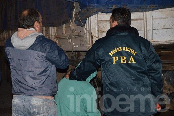 Fuerte golpe al narcotráfico, incautaron más de 1500 kilos de marihuana con destino Olavarría