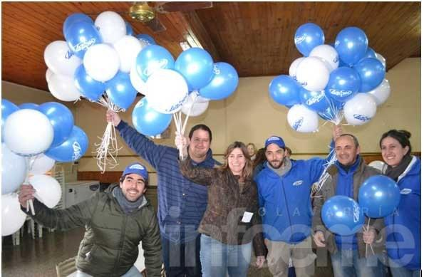Luz Azul y un ejemplo solidario a seguir