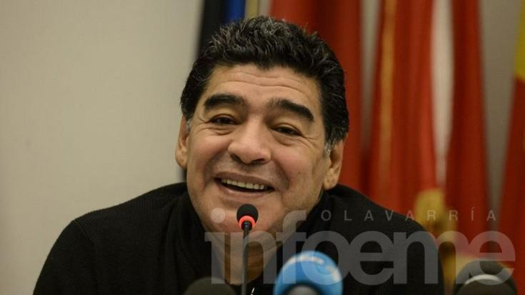 Maradona se postulará como candidato a presidente de la FIFA