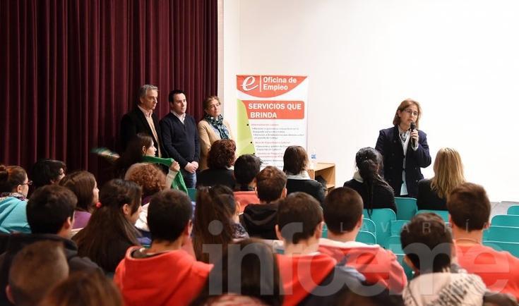 Más de 500 jóvenes en la 3º Jornada de Orientación Laboral