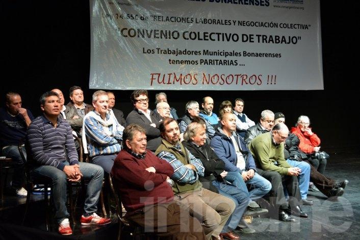 Municipales presentaron el nuevo Convenio Colectivo de Trabajo