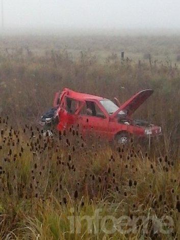 Dos olavarrienses heridos tras un choque en Ruta provincial 51
