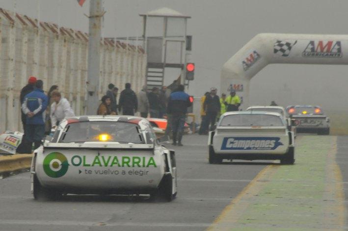 El TC y TC Pista Mouras tuvieron actividad bajo la lluvia