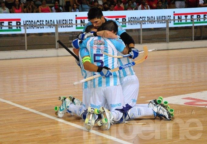 Argentina se coronó campeón del hockey sobre patines