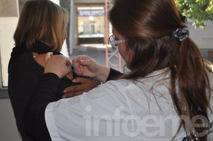 Ya se aplicaron más de 11 mil dosis de la vacuna antigripal