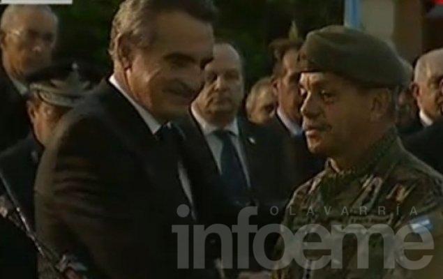 Prestó juramento el nuevo jefe del Ejército