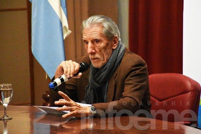 Con Hugo Chumbita abrió el ciclo de charlas del HCD