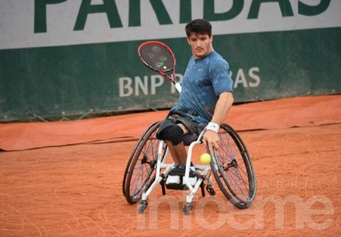 """El """"Lobito"""" Fernández campeón en Roland Garros"""