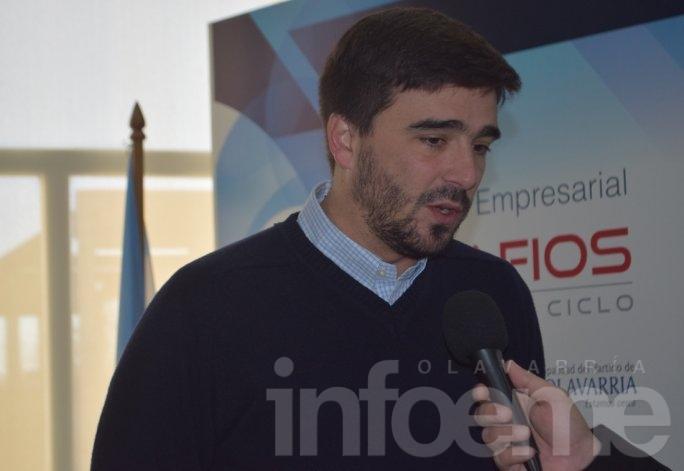 """Galli: """"Tenemos que acompañar mucho al sector empresarial"""""""
