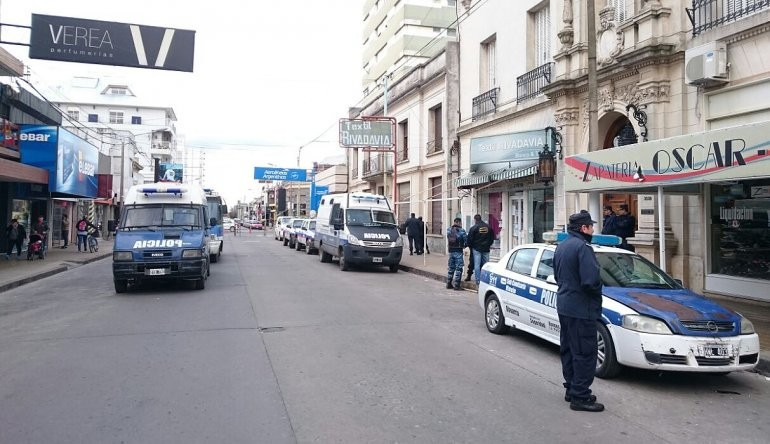 Amplio operativo policial para la sesión especial del HCD