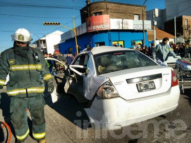 Seguridad Vial: realizaron un simulacro de accidente