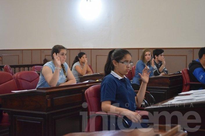 Continúa la inscripción para el Concejo Deliberante Estudiantil
