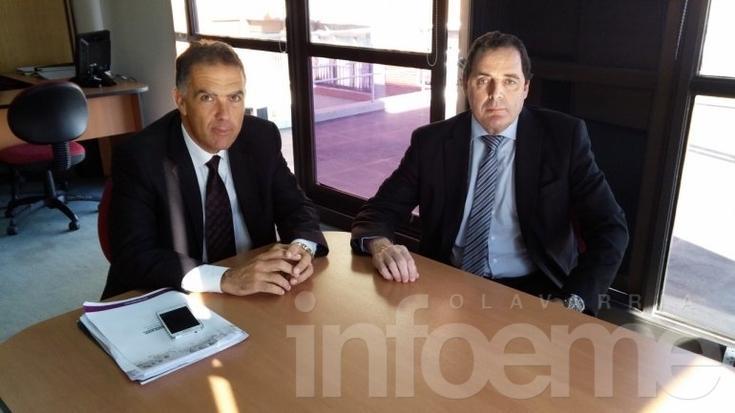 Vitale se reunió con el presidente del Colegio de Abogados de Azul