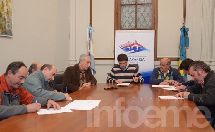 Firmaron acuerdo de adecuación con empresas de agroquímicos