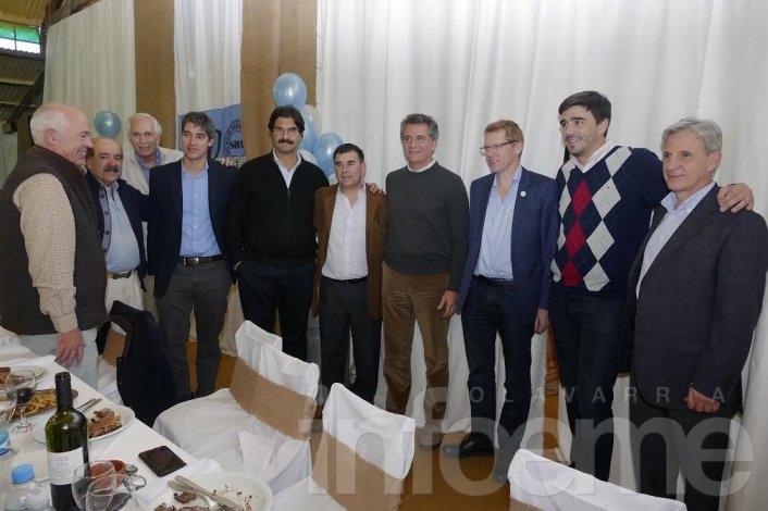 Galli participó de un almuerzo por los 150 años de la Sociedad Rural Argentina