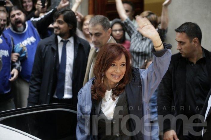 "Cristina: ""Yo no fui quien le dio la plata a López"""