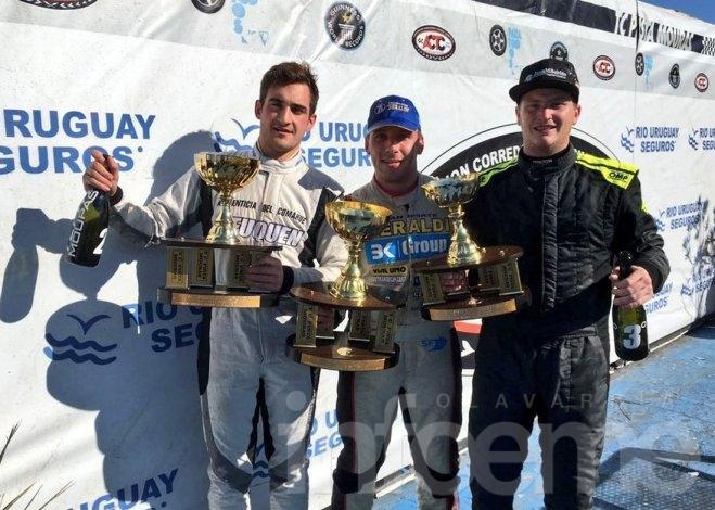 """""""Bebo"""" Weimann logró su primer podio en el TC Pista Mouras"""