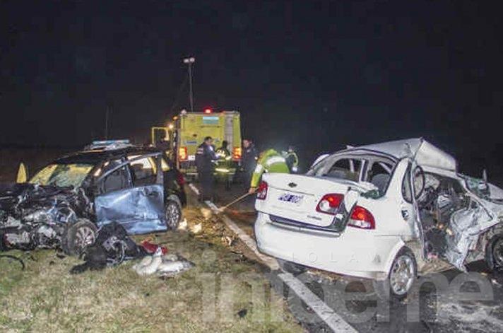 Trágico accidente en ruta 226: dos muertos