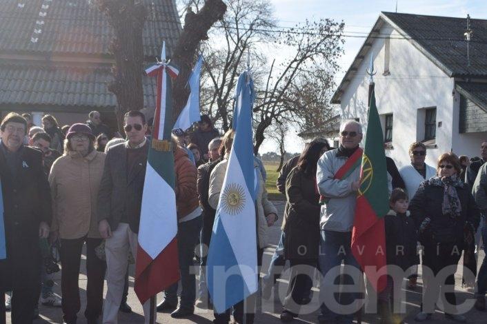 Las mejores imágenes del acto por el Día de la Bandera