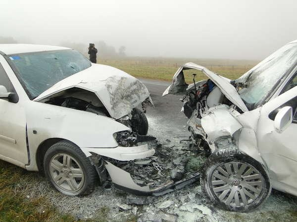 Fatal accidente en Azul