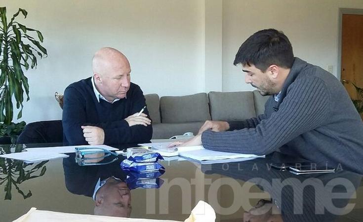 Galli se reunió con Mac Allister y anunció ayuda a clubes locales