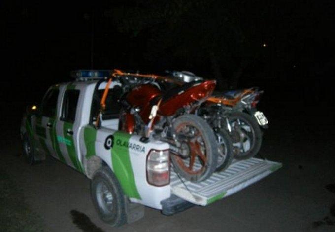 Secuestran motos en diversos operativos