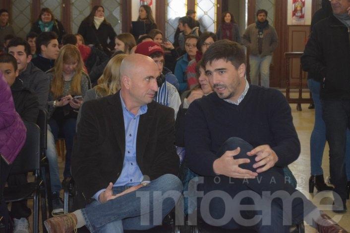 """Presentaron a los concejales estudiantiles """"Generación del Bicentenario"""""""