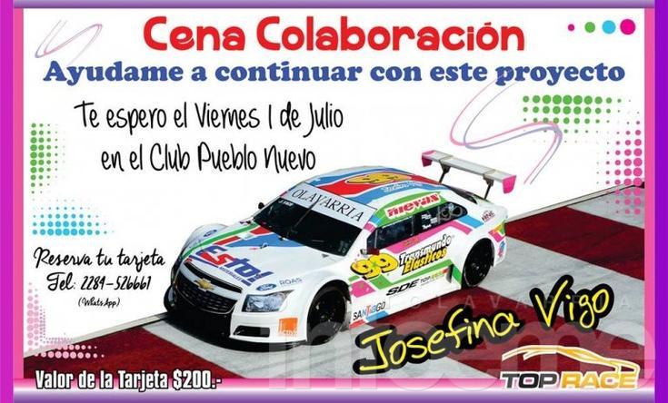 Josefina Vigo busca continuar en el Top Race Series
