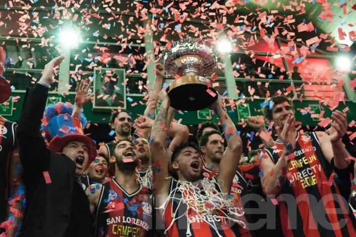 San Lorenzo se consagró campeón de la Liga Nacional