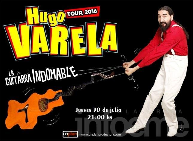 Ganá entradas para ver a Hugo Varela