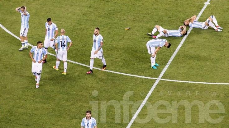 Argentina perdió por penales con Chile y sumó una nueva decepción