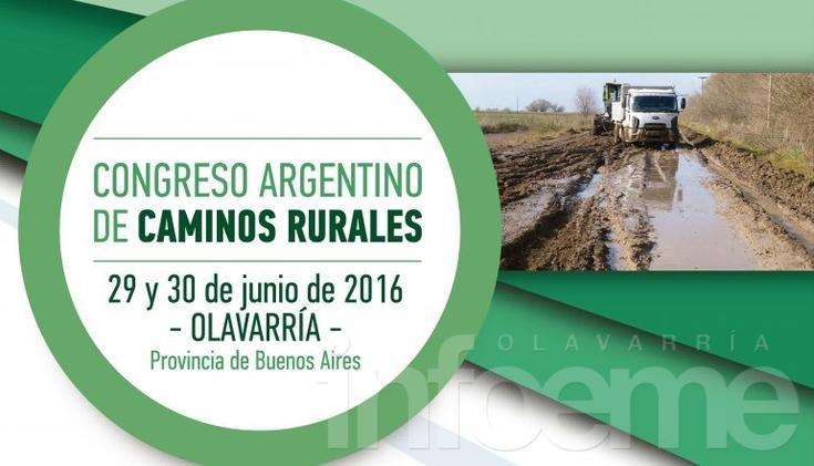 Llega el primer Congreso Nacional de Caminos Rurales