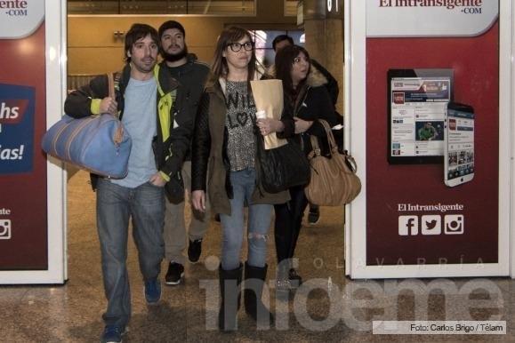 Los hijos de Lázaro Báez están en Buenos Aires
