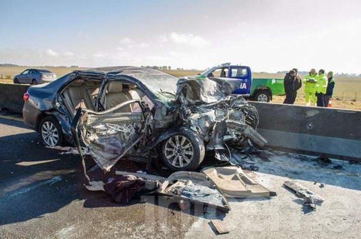 La senadora Carolina Szelagowski sufrió un accidente en Ruta 226