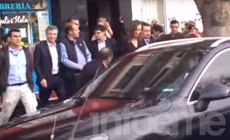 Increparon a Macri y Vidal durante recorrida en Tigre