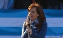 Cristina Kirchner confirmó su candidatura como senadora