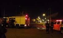 Camión derramó oxígeno líquido en la vía pública