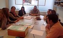 Reunión entre concejales y la directora provincial de Minería