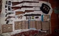 Secuestraron armas y gran suma de dinero en un kiosco