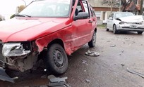 Dos personas heridas en un violento accidente