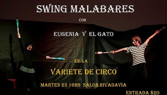 Varieté de circo para toda la familia en el Salón Rivadavia